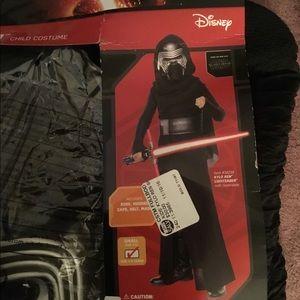 NWT Star Wars Kylo Ren Halloween Costume Deluxe